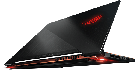 "Ноутбук ASUS ROG Zephyrus GX501GI (Intel Core i7 8750H 2200 MHz/ 15.6""/ 1920x1080/ 16GB/ 512GB SSD/ DVD нет/ NVIDIA GeForce GTX 1080/ Wi-Fi/ Bluetooth/ Windows 10 Home)"