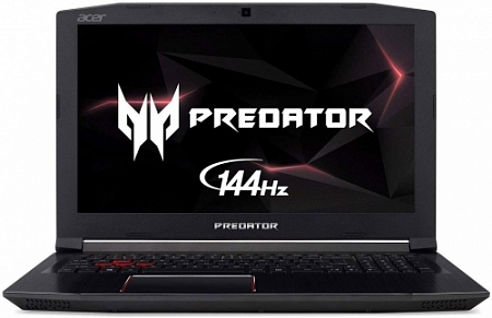 "Ноутбук Acer Predator Helios 300 (PH315) (Intel Core i7 8750H 2400 MHz/15.6""/1920x1080/144Hz/8GB/1000GB HDD/DVD нет/NVIDIA GeForce GTX 1060/Wi-Fi/Bluetooth/Windows 10 Home)"