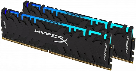 Оперативная память 32Gb DDR4 3000MHz Kingston HyperX Predator RGB (HX430C15PB3AK2/32) (2x16Gb KIT)