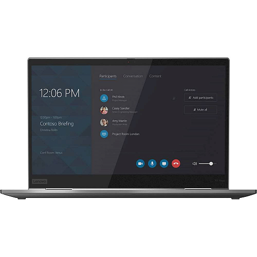 "Ноутбук Lenovo ThinkPad X1 Yoga Gen 5 Intel Core i5 10210U, 1.6 GHz - 4.2 GHz,/ 8192 Mb, /14"" Full HD 1920x1080 Touch,/ 256 Gb SSD,/ DVD нет,/ Intel UHD Graphics,/ Windows 10 Professional,/ серый, 1.4 кг"