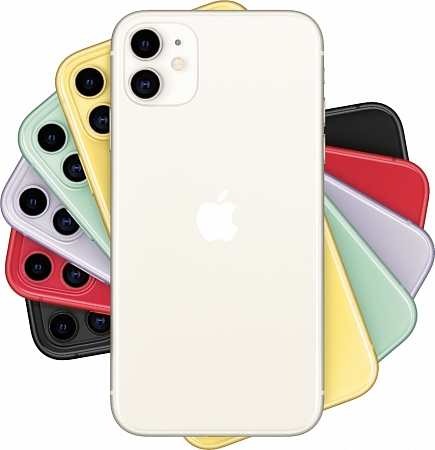 Смартфон Apple  iPhone 11 64Gb белый RU/A