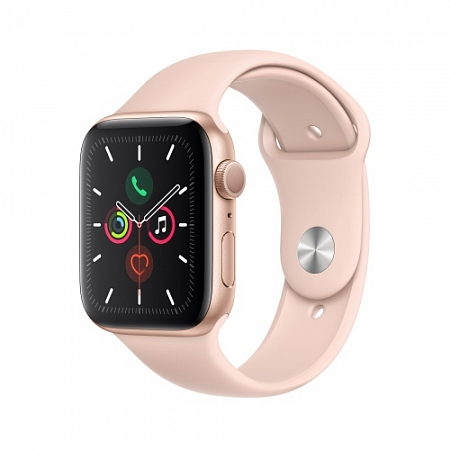 Apple Watch Series 4 GPS + Cellular 44mm Goldr Aluminum Pink Sand with Sport Band(Gps+Cell)