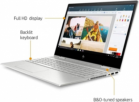 "Ноутбук HP ENVY x360 15m-dr1012dx (Intel Core i7 10510U 1800MHz/15.6""/1920x1080 Touchscreen/12Gb/512Gb SSD+32Gb Intel Optane/Intel UHD Graphics/Wi-Fi/Bluetooth/Windows 10 Home)"