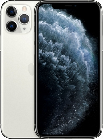 Смартфон Apple  iPhone 11 Pro Max 64Gb Серебристый RU/A