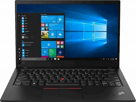 "Ноутбук Lenovo X1 Carbon Ultrabook (7th Gen) (Intel Core i7 10710U 1100 MHz/ 14""/ 1920x1080/ 16GB/ 256GB SSD/ Intel UHD Graphics 620 /Wi-Fi/ BT/ Windows 10 Pro)"