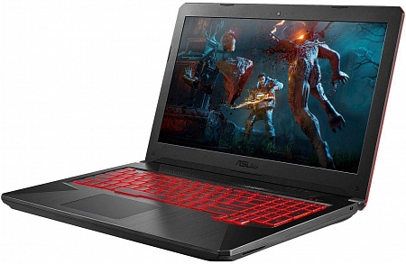 Ноутбук ASUS TUF Gaming FX504G (Intel Core i7-8750H 2.4Ghz/ 32Gb/ 1000Gb SSD/ nVidia GeForce GTX 1050Ti 4Gb/15.6/FHD IPS/Windows 10 Home