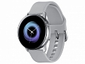 "Смарт-часы Samsung Galaxy Watch Active 1.1"" Super AMOLED серебристый (SM-R500NZSASER)"