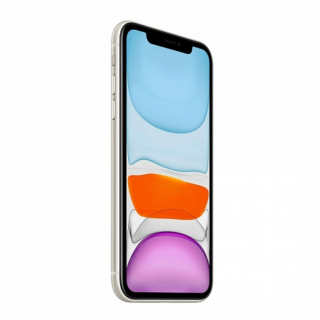 Смартфон Apple  iPhone 11 128Gb белый RU/A