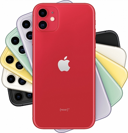 Смартфон Apple  iPhone 11 64Gb красный RU/A