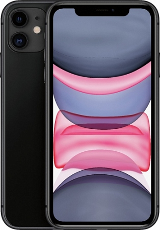 Смартфон Apple  iPhone 11 64Gb черный RU/A