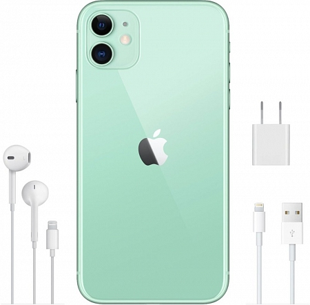 Смартфон Apple iPhone 11 128Gb зеленый RU/A