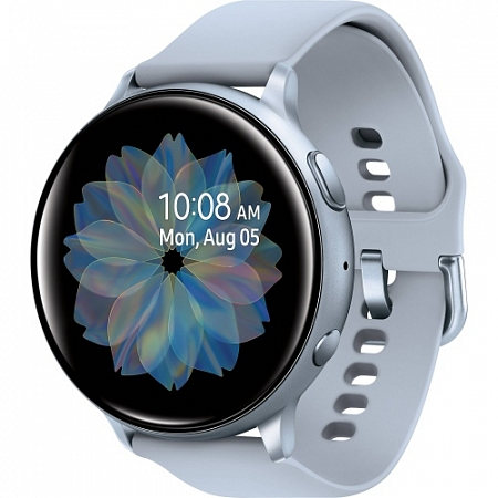 "Смарт-часы Samsung Galaxy Watch Active2 40мм 1.2"" Super AMOLED серебристый (SM-R830NZSASER)"