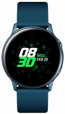 "Смарт-часы Samsung Galaxy Watch Active 1.1"" Super AMOLED зеленый (SM-R500NZGASER)"